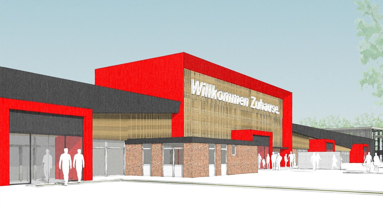 NOZ | 15.02.2019 Drei Millionen Euro: Ems-Dollart-Zentrum in Rhede wird umgebaut
