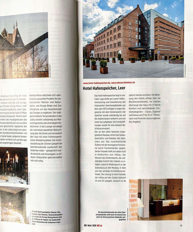 DBZ | 2020 Hotel Hafenspeicher, Leer