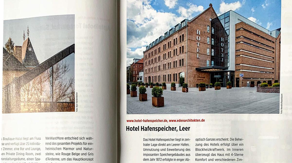 Veröffentlichung Hotel Hafenspeicher, Leer
