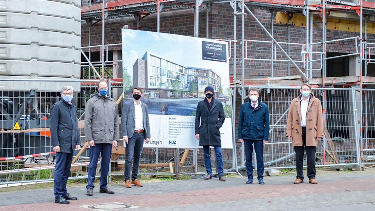 NOZ | 18.11.2020 NOZ Medienhaus in Lingen: Neubau auf der Zielgeraden